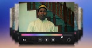 نموذج لفيديو المنبر العالمي باللغة الإندونيسية