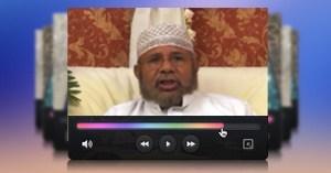 نموذج لفيديو المنبر العالمي باللغة السواحلية