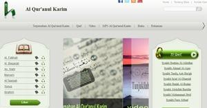 نموذج موقع بلاغ باللغة الإندونيسية
